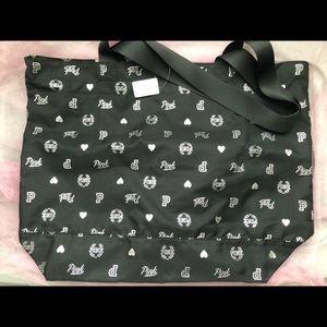 PINK Victoria's Secret Bags - Black Shopping/Gym Bag